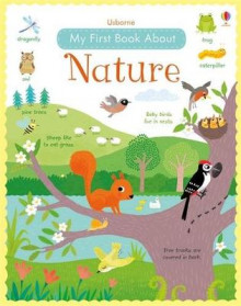 My First Book About Nature av Felicity Brooks (Innbundet)