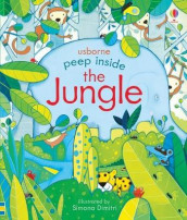 Peep Inside the Jungle av Anna Milbourne (Kartonert)