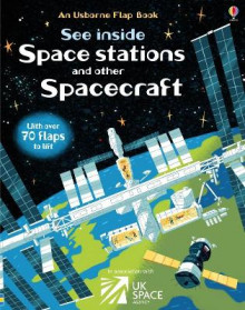 See Inside Space Stations and Other Spacecraft av Rosie Dickins (Kartonert)