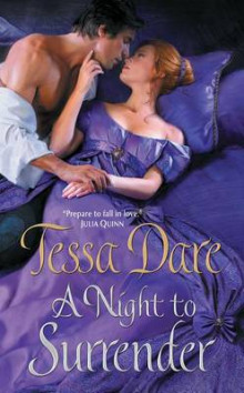 A Night to Surrender av Tessa Dare (Innbundet)
