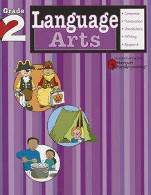 Language Arts: Grade 2 (Flash Kids Harcourt Family Learning) (Heftet)