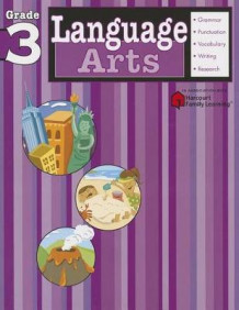 Language Arts: Grade 3 (Flash Kids Harcourt Family Learning) (Heftet)