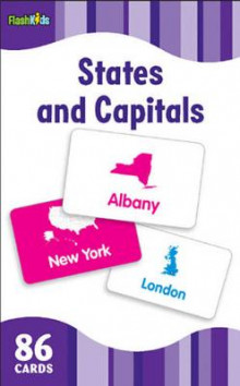 States and Capitals (Flash Kids Flash Cards) av Flash Kids Editors (Undervisningskort)