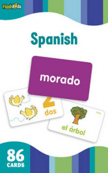 Spanish (Flash Kids Flash Cards) av Flash Kids Editors (Undervisningskort)