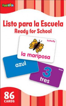Listo Para la Escuela/Ready for School (Flash Kids Spanish Flash Cards) av Flash Kids Editors (Undervisningskort)