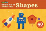 Omslag - Write-On Wipe-Off Learning Cards: Shapes