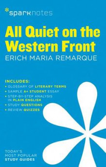 All Quiet on the Western Front by Erich Maria Remarque (Heftet)