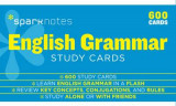 Omslag - English Grammar SparkNotes Study Cards