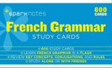 Omslag - French Grammar SparkNotes Study Cards