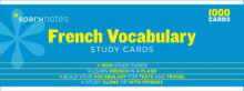 French Vocabulary SparkNotes Study Cards av SparkNotes (Undervisningskort)