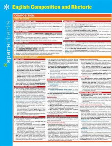 English Composition and Rhetoric Sparkcharts av Sparknotes (Plakat)