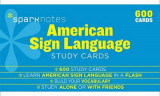 Omslag - American Sign Language Sparknotes Study Cards