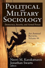 Omslag - Political and Military Sociology, an Annual Review: Volume 44
