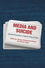 Omslag - Media and Suicide