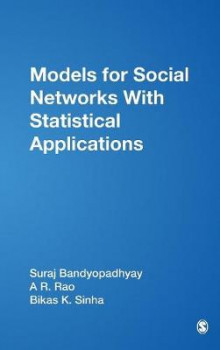 Models for Social Networks with Statistical Applications av Suraj Bandyopadhyay, A. Ramachandra Rao og Bikas Sinha (Innbundet)