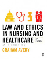 Omslag - Law and Ethics in Nursing and Healthcare