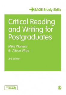 Critical Reading and Writing for Postgraduates av Mike Wallace og Alison Wray (Heftet)