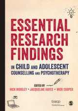 Omslag - Essential Research Findings in Child and Adolescent Counselling and Psychotherapy