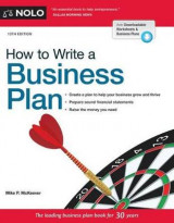 Omslag - How to Write a Business Plan