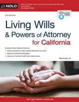 Omslag - Living Wills and Powers of Attorney for California