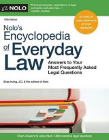 Omslag - Nolo's Encyclopedia of Everyday Law