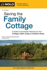 Omslag - Saving the Family Cottage