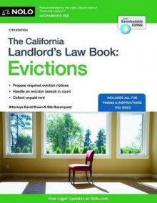 The California Landlord's Law Book: Evictions av David Brown og Nils Rosenquest (Heftet)
