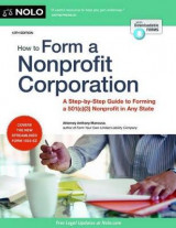 Omslag - How to Form a Nonprofit Corporation (National Edition)