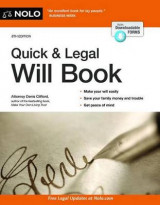 Omslag - Quick & Legal Will Book