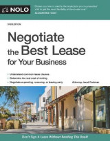 Omslag - Negotiate the Best Lease for Your Business