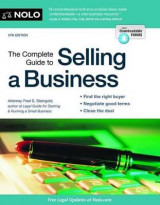 Omslag - The Complete Guide to Selling a Business