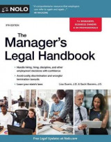 Omslag - The Manager's Legal Handbook