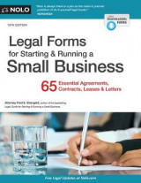 Omslag - Legal Forms for Starting & Running a Small Business