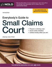 Everybody's Guide to Small Claims Court av Cara O'Neill (Heftet)