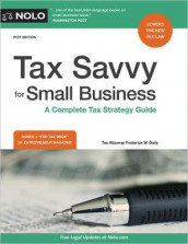 Tax Savvy for Small Business av Frederick W Daily (Heftet)