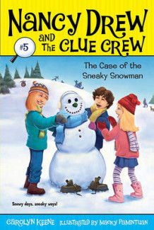 Case of the Sneaky Snowman av Carolyn Keene (Heftet)