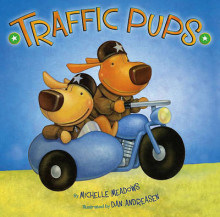 Traffic Pups av Michelle Meadows (Innbundet)