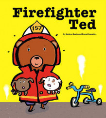 Firefighter Ted av Andrea Beaty (Innbundet)