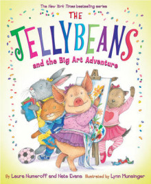 The Jellybeans and the Big Art Adventure av Laura Joffe Numeroff (Innbundet)
