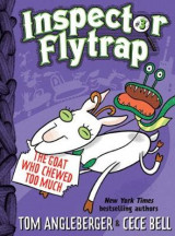 Omslag - Inspector Flytrap in the Goat Who Chewed Too Much: Book 3