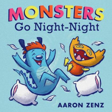 Monsters Go Night-Night av Aaron Zenz (Innbundet)