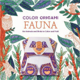 Omslag - Color Origami: Fauna (Adult Coloring Book)