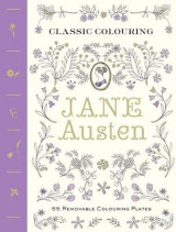 Omslag - Classic Colouring: Jane Austen (Adult Colouring Book)