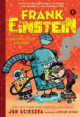 Omslag - Frank Einstein and the Antimatter Motor (Frank Einstein Series #1)