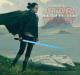 Omslag - Art of Star Wars: The Last Jedi