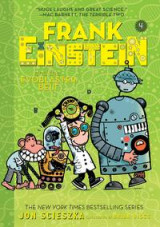 Omslag - Frank Einstein and the EvoBlaster Belt (Frank Einstein series #4)