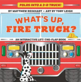 Omslag - What's Up, Fire Truck? (A Pop Magic Book)