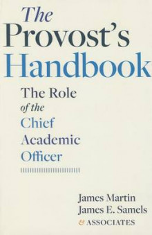 The Provost's Handbook av James Martin og James E. Samels (Heftet)