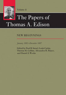 The Papers of Thomas A. Edison: Volume 8 av Thomas A. Edison, Paul B. Israel, Louis Carlat, Theresa M. Collins, Alexandra R. Rimer og Daniel J. Weeks (Innbundet)