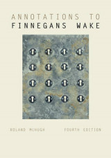 Omslag - Annotations to Finnegans Wake